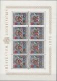 Liechtenstein Kleinbogen Mi.-Nr. 590 I**
