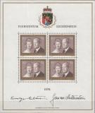 Liechtenstein Kleinbogen Mi.-Nr. 614 I**
