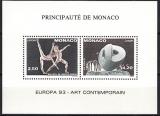 Monaco-Sonderdruck-Mi.-Nr. 2120/21 A ** gezähnt