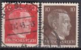 Deutsches Reich Mi.-Nr. 826/7 oo
