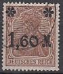Deutsches Reich Mi.-Nr. 154 II a oo gepr.