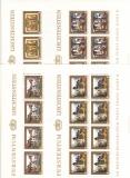 Liechtenstein Kleinbogen Mi.-Nr. 706/9 **