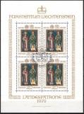 Liechtenstein Kleinbogen Mi.-Nr. 734 oo