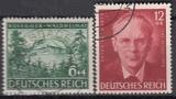 Deutsches Reich Mi.-Nr. 855/56 oo
