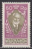 Liechtenstein-Mi.-Nr. 85 **