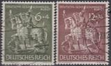 Deutsches Reich Mi.-Nr. 860/61 oo