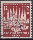 Deutsches Reich Mi.-Nr. 862 oo
