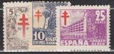 Spanien Zwangszuschlag Mi.-Nr. 42/44 **