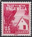 Spanien Zwangszuschlag Valencia Mi.-Nr. 2 **