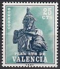 Spanien Zwangszuschlag Valencia Mi.-Nr. 7 **