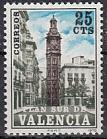 Spanien Zwangszuschlag Valencia Mi.-Nr. 8 **