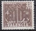Spanien Zwangszuschlag Valencia Mi.-Nr. 9 **