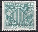 Spanien Zwangszuschlag Valencia Mi.-Nr. 10 y **
