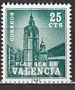 Spanien Zwangszuschlag Valencia Mi.-Nr. 3 **