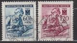 Böhmen und Mähren Mi.-Nr. 111/12 oo
