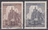 Böhmen und Mähren Mi.-Nr. 140/41 oo