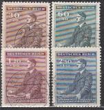 Böhmen und Mähren Mi.-Nr. 85/88 oo