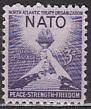 NATO 1952 USA Mi.-Nr. 627 **