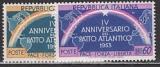 NATO 1953 Italien Mi.-Nr. 896/97 **