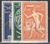 NATO 1954 Griechenland Mi.-Nr. 615/7 **