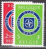 NATO 1959 Belgien Mi.-Nr. 1147/48 **
