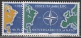 NATO 1959 Italien Mi.-Nr. 1032/33 **