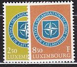 NATO 1959 Luxemburg Mi.-Nr. 604/5 **