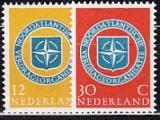 NATO 1959 Niederlande Mi.-Nr. 728/9 **