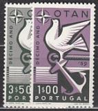 NATO 1960 Portugal Mi.-Nr. 878/79 **