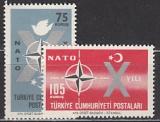 NATO 1962 Türkei Mi.-Nr. 1830/1 **