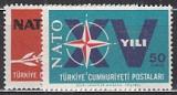 NATO 1964 Türkei Mi.-Nr. 1899/900 **