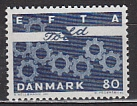 EFTA 1967 Dänemark Mi.-Nr. 450 x **