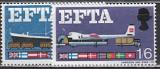 EFTA 1967 Grossbritannien Mi.-Nr. 444/445 x **