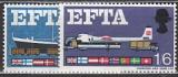 EFTA 1967 Grossbritannien Mi.-Nr. 444/445 y **