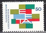 EFTA 1967 Liechtenstein Mi.-Nr. 481 **