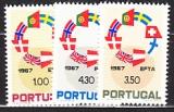 EFTA 1967 Portugal Mi.-Nr. 1043/45 **