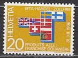 EFTA 1967 Schweiz Mi.-Nr. 852 **