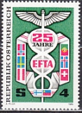 EFTA 1985 Österreich Mi.-Nr. 1813 **