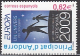 CEPT Andorra sp. 2009 **