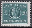 Italien - Gebührenmarken Brief - Mi.-Nr. 12 **