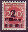 Deutsches Reich Mi.-Nr. 309 A p c ** gepr.