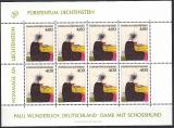 Liechtenstein Kleinbogen Mi.-Nr. 1123 **