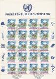 Liechtenstein Kleinbogen Mi.-Nr. 1015 oo