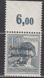 SBZ Mi.-Nr. 186 a P OR dgz ** gepr.