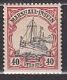 Dt. Kol. Marshall-Inseln Mi.-Nr. 19 *