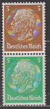 Deutsches Reich Mi.-Nr. S 127 **