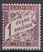 Frankreich - Porto Mi.-Nr. 50 **