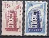CEPT Frankreich 1956 oo