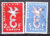 CEPT Belgien 1958 oo