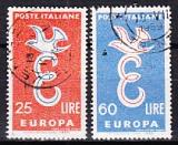 CEPT Italien 1958 oo